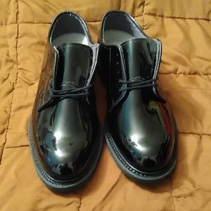 Bates high gloss oxford dress shoes